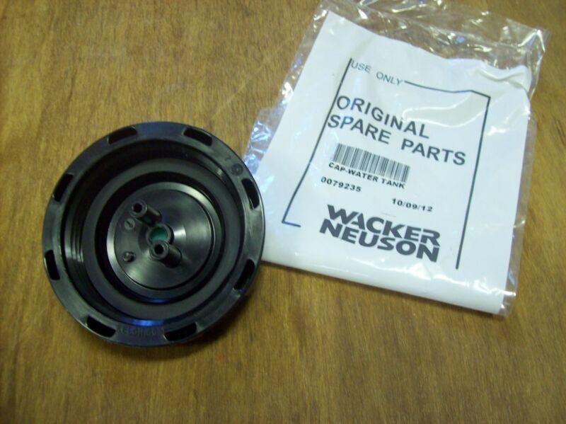 Wacker Wp1550 / Wp1540 Plate Compactor Tamper Water Tank Cap -part # 0079235