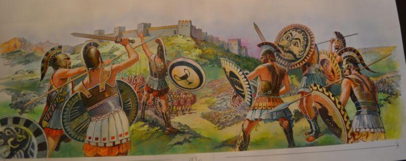 Original Jose Miralles  Pelloponnesian War