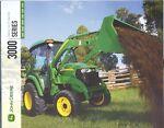 John Deere 3000 Series Tractors 3520 Sales Brochur picture