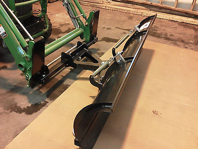 John Deer Tractor Snow Plow. Fits: JohnDeer JDQA front loaders
