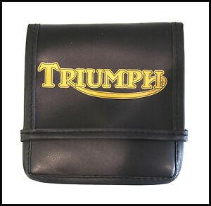TRIUMPH 650 750 BONNEVILLE TIGER TROPHY TOOL KIT BAG W/LOGO PN# TBS-0085