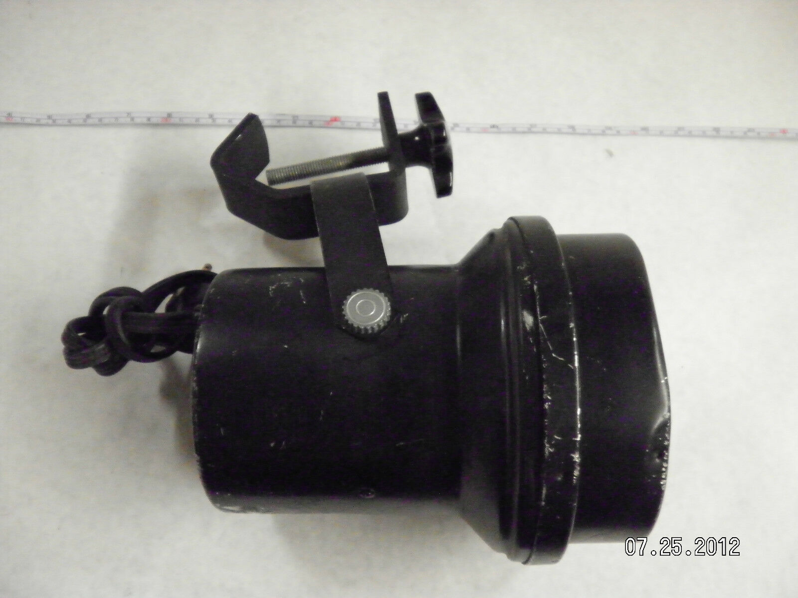 Hogles Small Metal Stage Light With Clamp 5.5