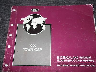1997 LINCOLN TOWN CAR Wiring Electrical Diagrams Shop Service Repair Manual EWD