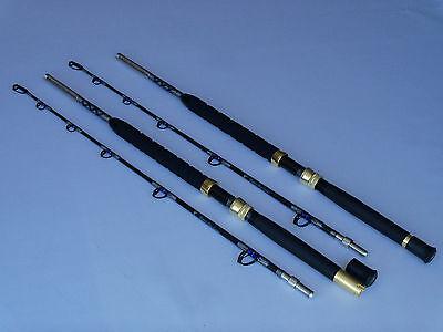 Davis Big Game Saltwater Travel 2 Piece Std Guide Troll Fishing Rod St 2 80-100