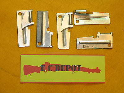P51 P-51 CAN OPENERS 4 WW2 STYLE   TOOL FOUR U.S SHELBY CO. C//K RATIONS