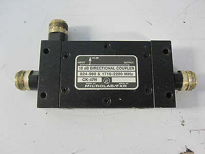 Microlab Fxr 10db Directional Coupler Dual Band N-type Nr