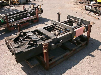 Cl183m0799 Forklift Mast Upright Lift Used Clark W Carriage Lift Height 183