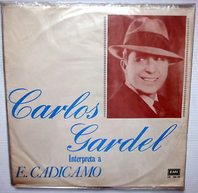 Carlos Gardel Interpreta A E  Cadicamo  Sealed Lp Emi Uruguay Tango Latin
