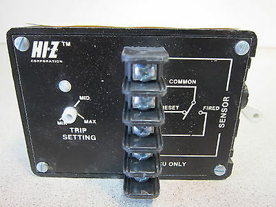 Ground Fault Relay - Azm - 125vac Max 600 Vac Class 1 - Hi- Z Corp