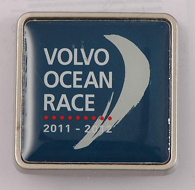 VOLVO OCEAN RACE 2011-2012 LAPEL PIN/TIE TACK COLLECTIBLE BADGE/EMBLEM GENUINE