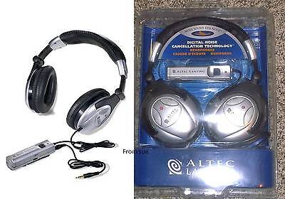 New Sealed Altec Lansing Ahp712i  Ahp 712I  Active Noise Reduction Headphones