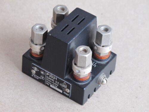 0.001Ohm 0.002% P3031 Resistor Standard Resistance an-g  LEEDS&NORTHRUP ESI, GR