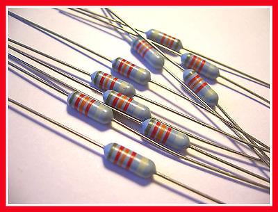 10-pack Mepco Electra Rn60d 82k Ohm 2 Precision Mil-spec Metal Film Resistor