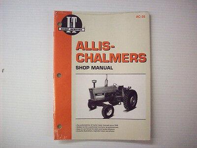 New It Manual Allis-chalmers 6060 6070 6080 Ac-35 - Pm