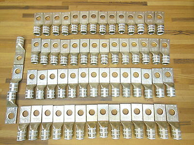 Klauke ss30 300CU copper compression cable lugs MEGA LOT of 59 pieces