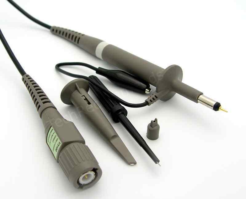 100MHz Oscilloscope Clip Passive High Voltage Probe Max.2000VDC X100