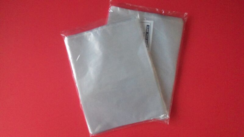 """100 Clear 6x8 Poly Plastic Bags Flat Open Top 1 Mil New 6"""" X 8"""""""