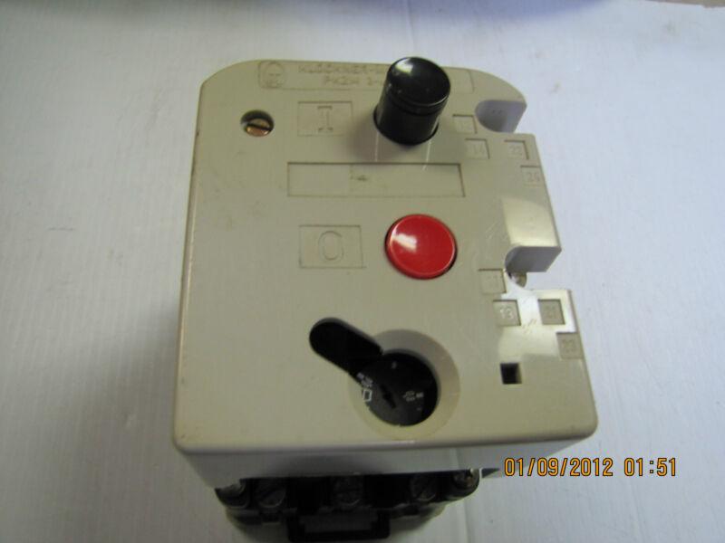 KLOCKNER MOELLER MOTOR STARTER PKZM3-1 PKZM31 11A 11 A AMP