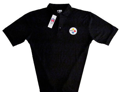 Pittsburgh Steelers NFL Men's Game Day Apparel Polo Shirt Big & Tall Sizes NWT