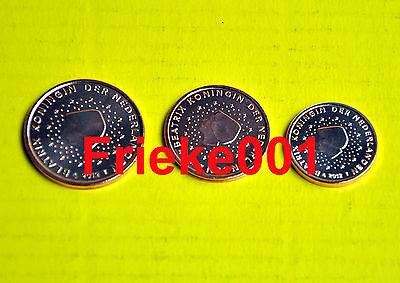 Nederland - Pays-Bas - 1,2 en 5 cent 2005 unc.