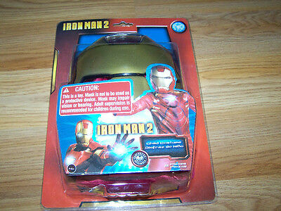 Iron Man 2 Costume & Mask Halloween Dress Up Disguise New (Iron Man 2 Halloween Kostüme)