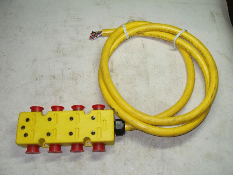 (d13) 1 Lumberg Zlu 8/l-30-624/xx Distribution Box 8 Port 3 Pin