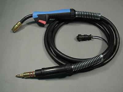 Htp Miller 169593 15 Ft Mig Welding Gun Torch M-15 M15 M150