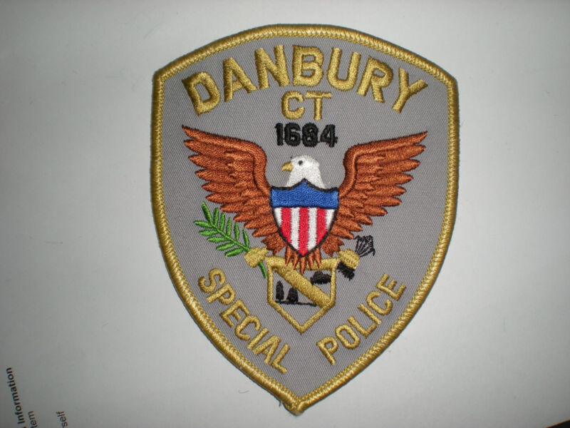 DANBURY, CONNECTICUT SPECIAL POLICE PATCH