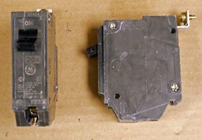 Ge General Electric 20 amp circuit breaker THQB1120 NTO