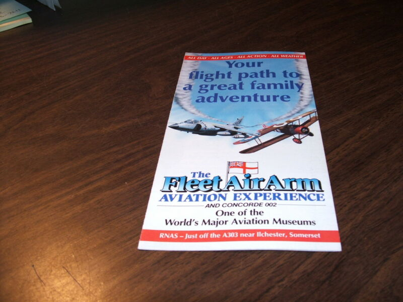 FLEET AIR ARM AVIATION MUSEUM BROCHURE