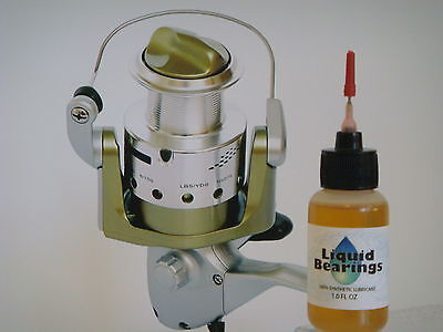 Liquid Bearings, BEST 100%-synthetic oil for saltwater Fin-Nor spinning