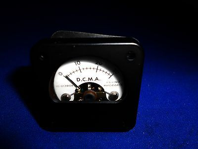 10-013909 Phaostron Inst Meter 0-30 Dcma 1 34 Square New Old Stock