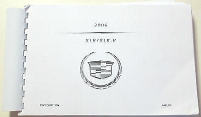 GM 2006 Cadillac XLR/XLR-V Navigation Manual #06XLRB