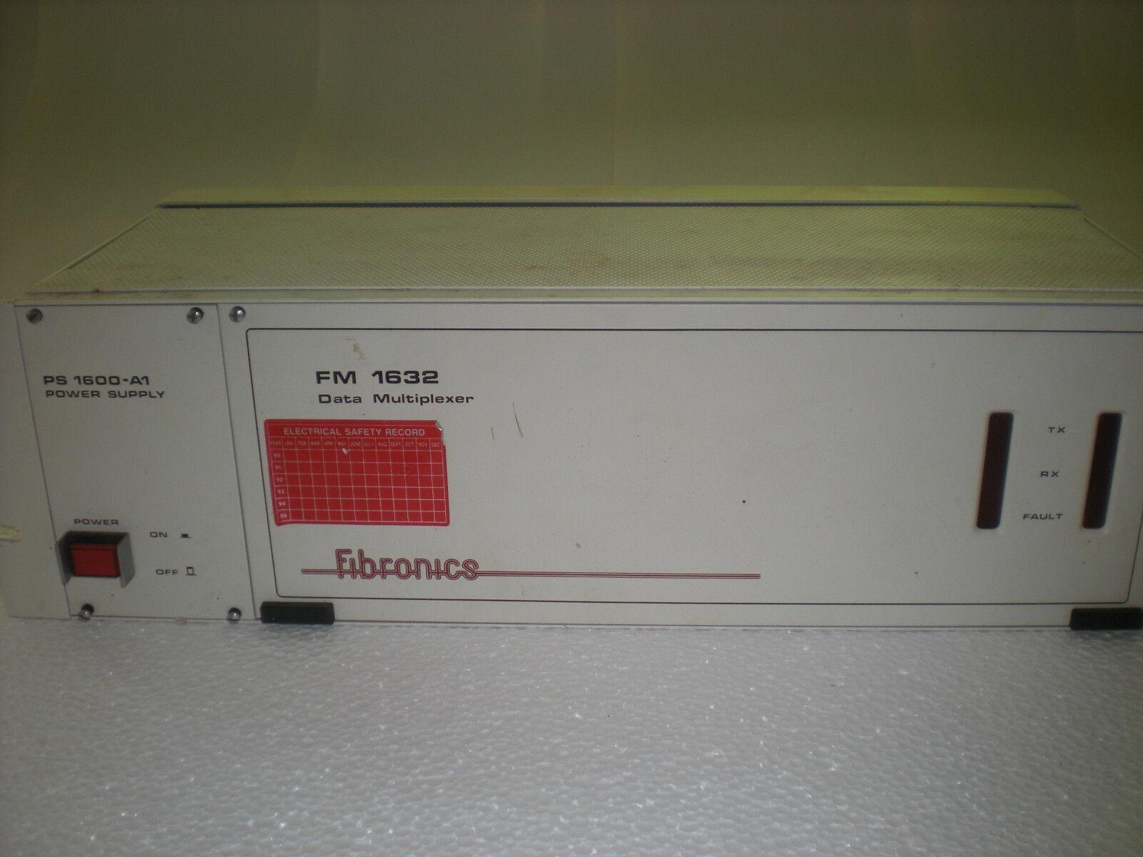 Fiber Optic Fibronics FM1632 16-port Data Multiplexer, Data Communication