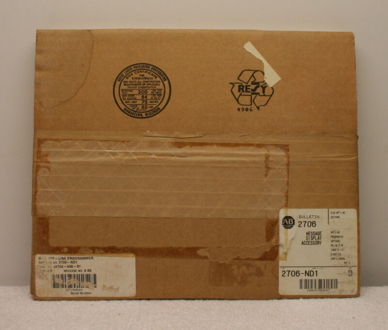 Allen Bradley 2706-ND1  Message Display Accessory  Series D 2706ND1 **Sealed**
