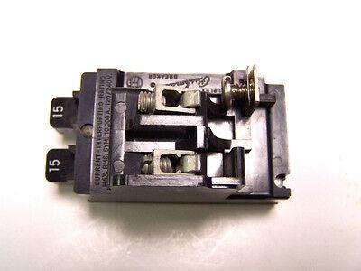 Pushmatic Duplex Circuit Breaker .. P1515 ... .. 15a ... Zf-32d