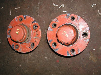 Allis Chalmers Ca Tractor Ac Front Hubs With Hubs Caps