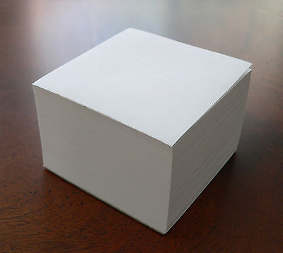 Note Paper Refill Cube - Loose Sheets - For Your Paper Holder 3 12 X 3 12