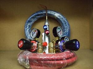Oxygen & Acetylene lightweight gas welding brazing kit Oxy Acet