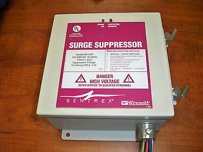 Sentrex Hb-120y Surge Suppressor 120208vac 4 Wire Gnd