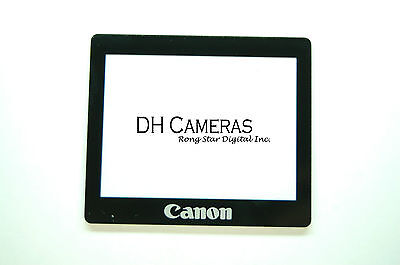 Canon EOS Rebel XTi 400D LCD Window outer Glass Screen Display +Tape adhesive Canon Xti Lcd