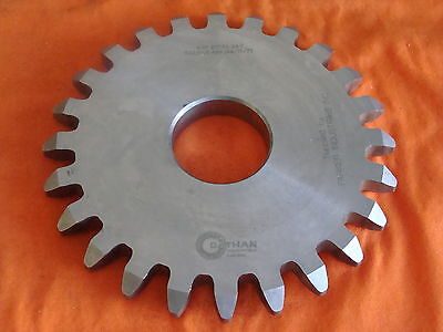 Dathan Gear Cutter Disc Shaper Finishing Non Topping 4 Dp 20 Pa 24 T 1.75 B