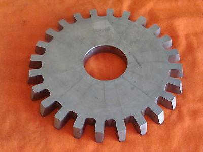 Fellows Gear Cutter Disc Shaper Finishing Non Topping 4 Dp 14.5 Pa 24 T 1.75 B