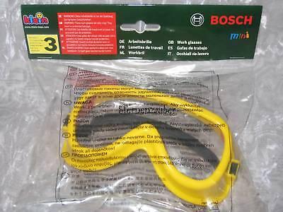 NEU! KLEIN Bosch mini ARBEITSBRILLE Brille Schutzbrille für Kinder
