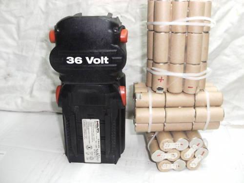 1 Block Battery hilti Bp 6 3Ah NI-MH (Battery Bateria Akku Battery)