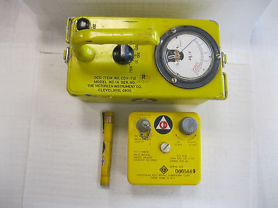 Civil Defense Radiation Detection Ocdm Cdv-715 Cd V-750 Dosimeter Charger