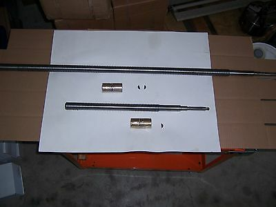 Leadscrew Manual Cross Feed Assy X And Y Axes 9x48 Table For Bport Type Mills