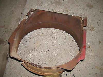 Farmall 504 Diesel Rowcrop Tractor Orignal Ih Radiator Fan Shroud