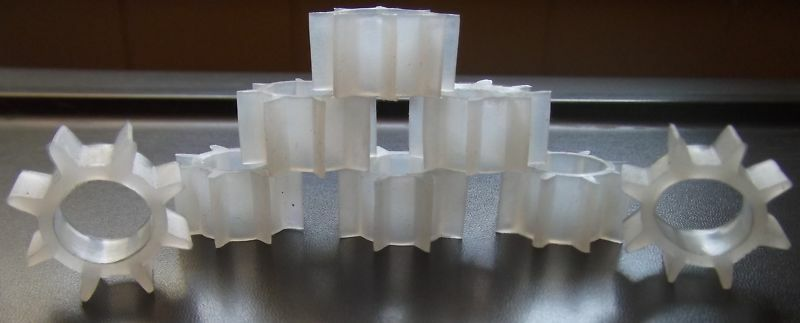 VOTIVE CUP GROMMETS CLEAR NEW(16)HOLDS PEG VOTIVECUPS TIGHT HOME INTERIOR&OTHERS