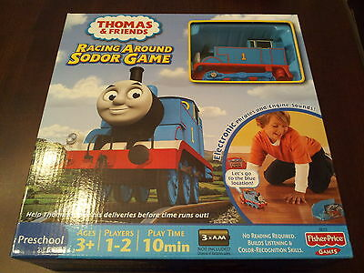 Thomas & Friends Racing Around Sodor Game - Electronic - Talks, Has Train Sounds